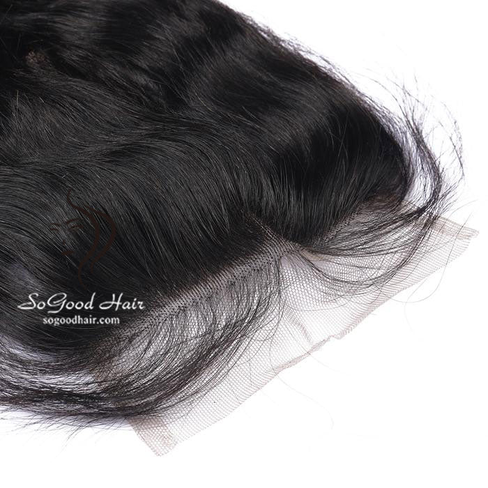 3 Bundles With 4x4 Lace Closure Tight Loose Wave - sogoodhair