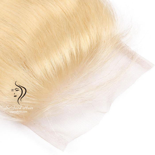 Brazilian Hair 4X4 Lace Closure Body Wave Blonde 10-20inch SoGoodHair--SG3211 - sogoodhair