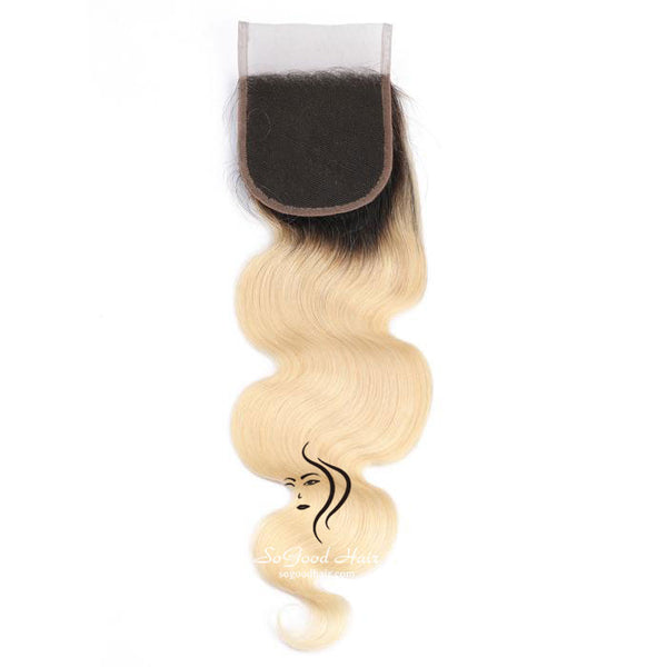 Brazilian Hair 4X4 Lace Closure Body Wave Ombre 10-20inch SoGoodHair--SG3311 - sogoodhair