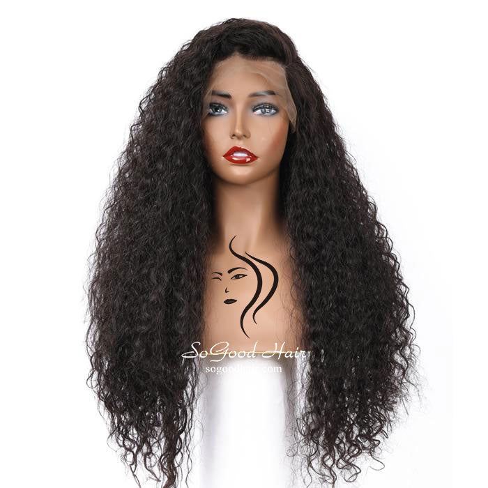 Samanta Curly Full Lace Wig| Pre-Plucked - sogoodhair