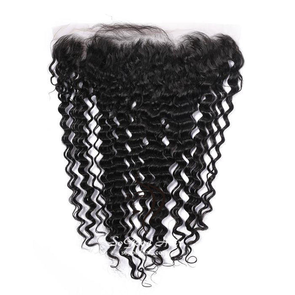 13X4 Top Lace Frontal Deep Wave Natural Color 10-20inch SoGoodHair--SG4121 - sogoodhair