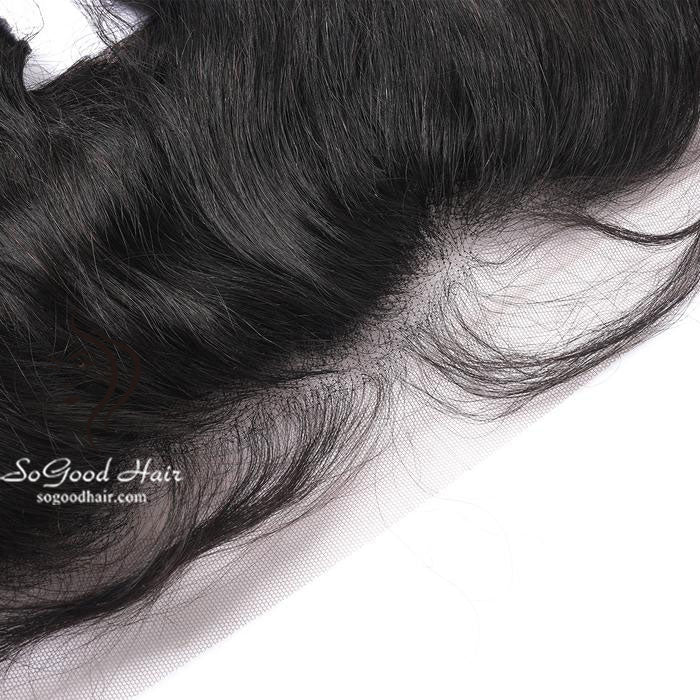 13X4 Top Lace Frontal Tight Loose Wave Natural Color 10-20inch SoGoodHair--SG4151 - sogoodhair