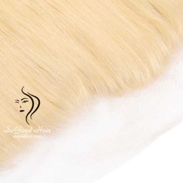 13X4 Top Lace Frontal Straight Blonde 10-20inch SoGoodHair--SG4201 - sogoodhair