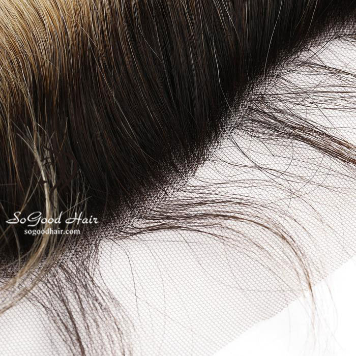 13X4 Top Lace Frontal Straight Ombre 10-20inch SoGoodHair--SG4301 - sogoodhair