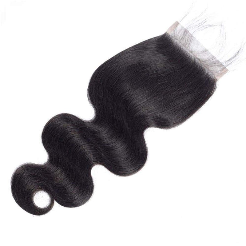 Body Wave HD Swiss Lace Closure | Pre-plucked Hairline with Baby Hair - sogoodhair
