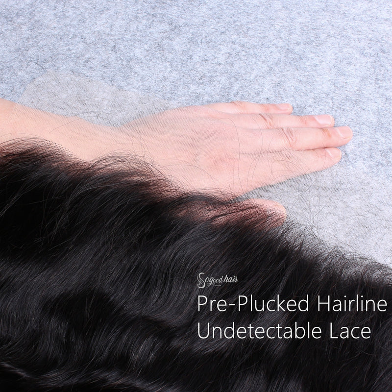 Straight Invisible HD Swiss Lace Frontal