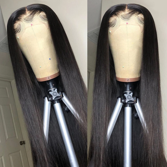 What Lace?! 200% PERFECT UNDETECTABLE Swiss HD LACE Frontal Straight Wig