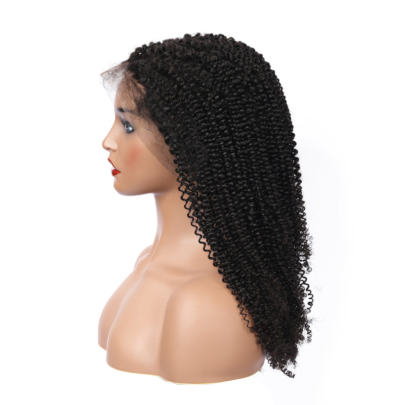 Kinky Curly 360 Frontal Wig | Pre-plucked - sogoodhair