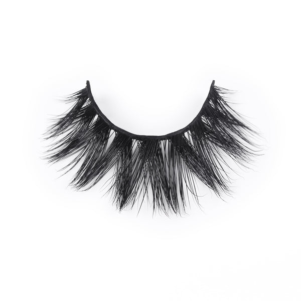 Luxury Mink Fur Eyelashes With Adhesive Eyeliner - sogoodhair