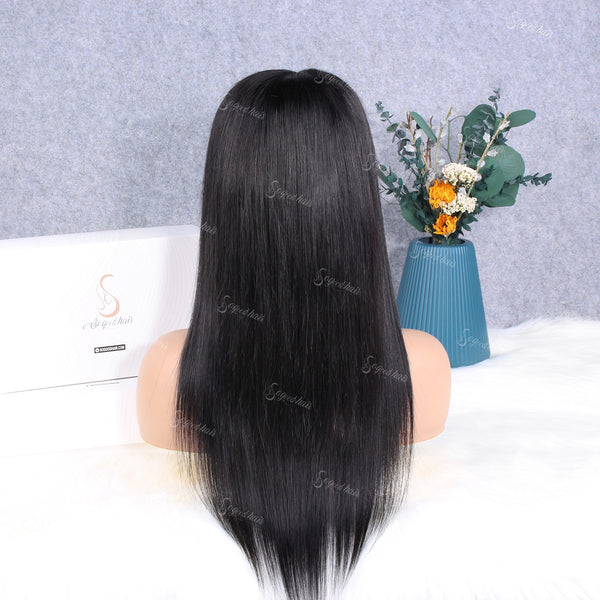 13x4 Straight Lace Front Wig + $0.99 Luxury Mink Fur Eyelashes , Code: WK16