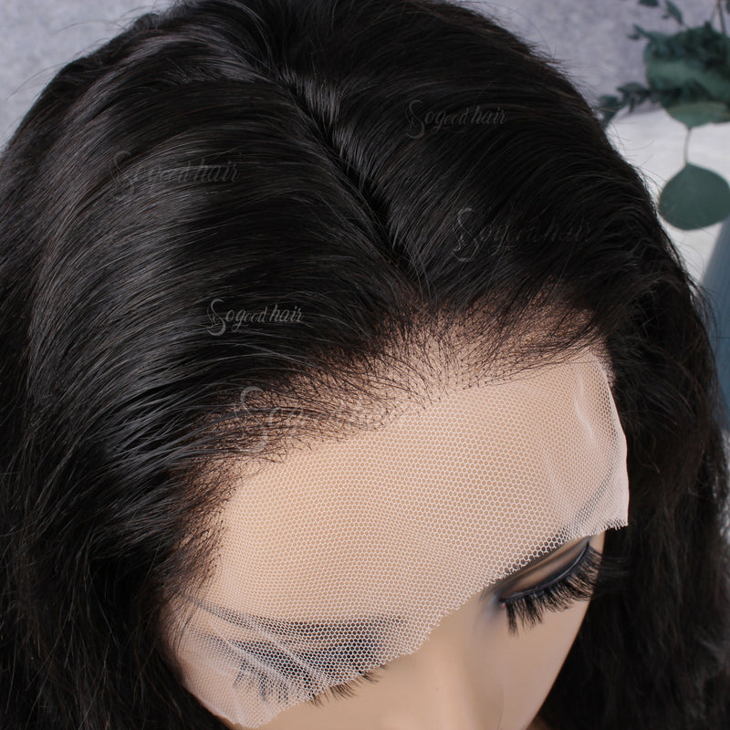 Yanie Body Wave 360 Frontal Wig| Pre-Plucked& Pre-Bleached Natural Hairline