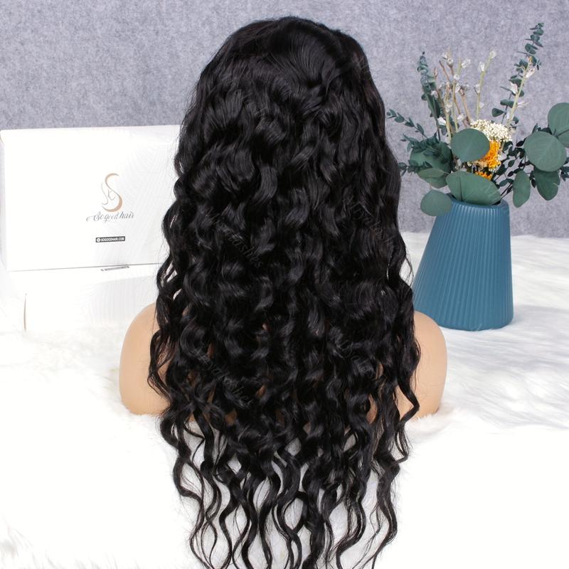 Cindy Loose Wave Pre-Made 13x4 Fake Scalp Lace Frontal Wig