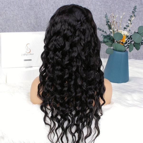 Super-U U Part Loose Wave Wig | Super Easy Human Hair Wig