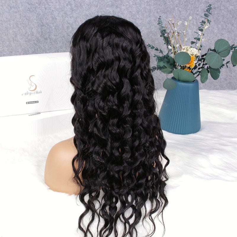 Cindy Loose Wave 4x4 Closure Wig| Pre Plucked& Bleached