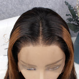 Laura| 200% Density Honey Highlights Brown Body Wave Lace Front Wig