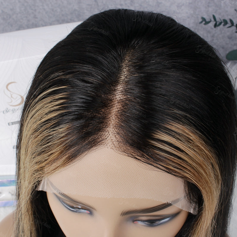 Vivi Straight 180% Density Lace Frontal Wig