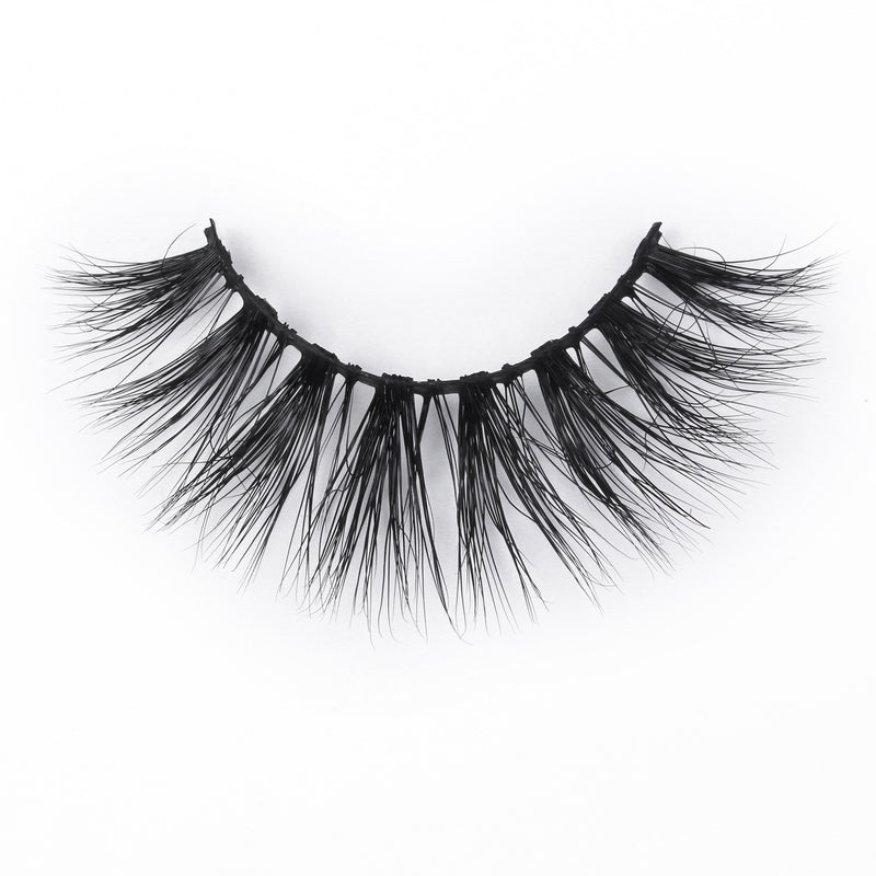 High-End Mink Fur Eyelashes With Adhesive Eyeliner - sogoodhair