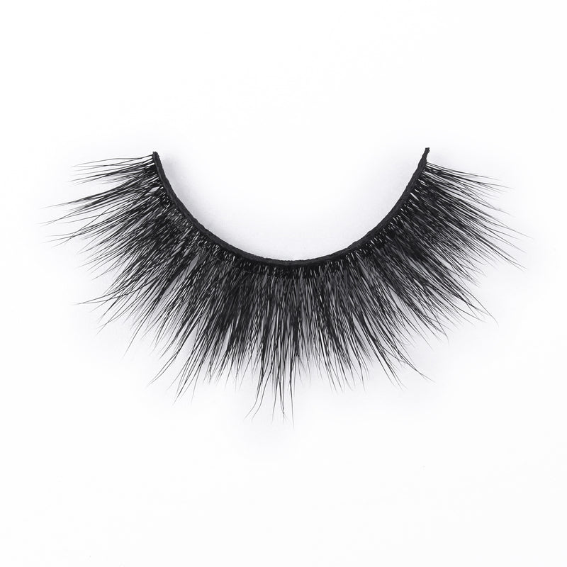 Faux Mink Eyelashes With Adhesive Eyeliner - sogoodhair