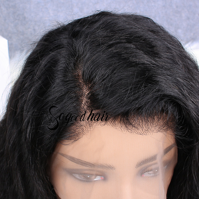 Brianna Bleach Wave 13x6 Lace Frontal Wig - sogoodhair