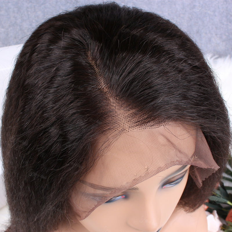 Lemon Kinky Straight 360 Lace Frontal Wig - sogoodhair