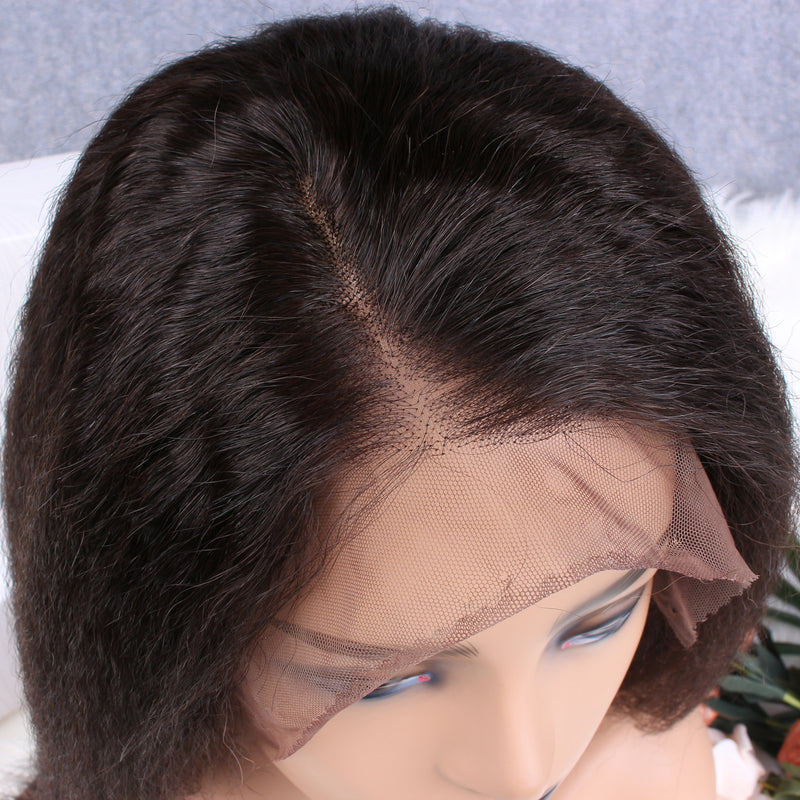 Lemon Kinky Straight 13x6 Lace Frontal Wig - sogoodhair
