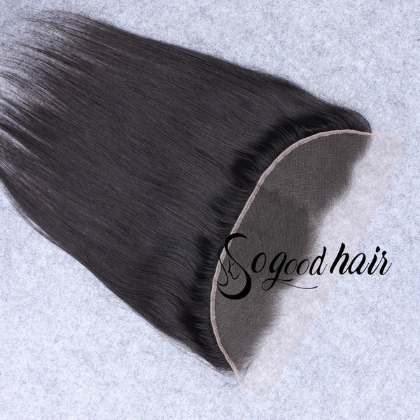 13×6 Straight HD Swiss Lace Frontal | Pre-plucked Hairline with Baby Hair - sogoodhair