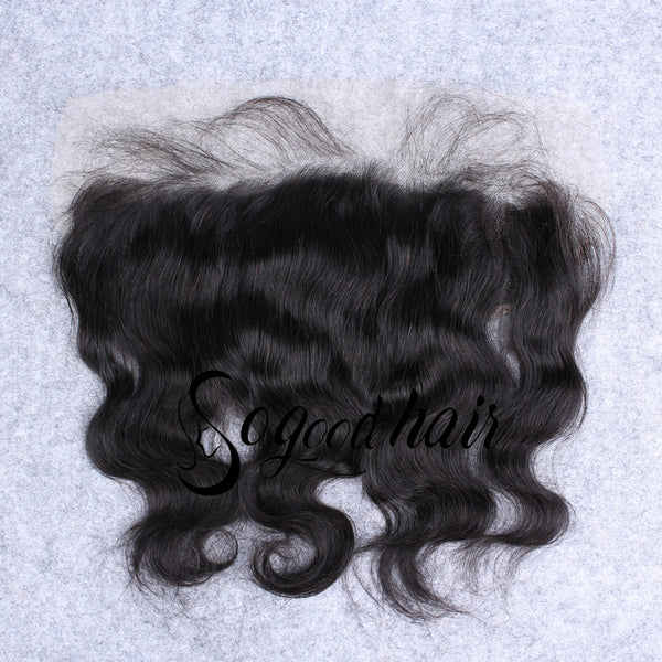 13×6 Body Wave HD Swiss Lace Frontal | Pre-plucked Hairline with Baby Hair - sogoodhair