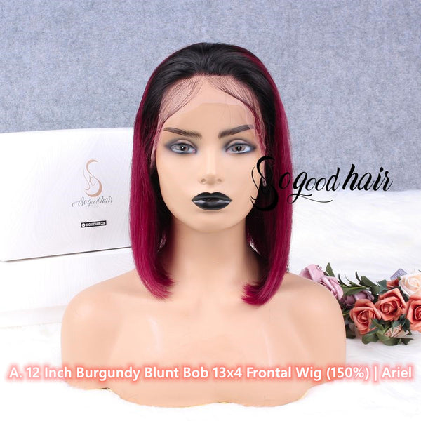 Promo Package 2 Best Selling Wigs Only $208, code: SGPB