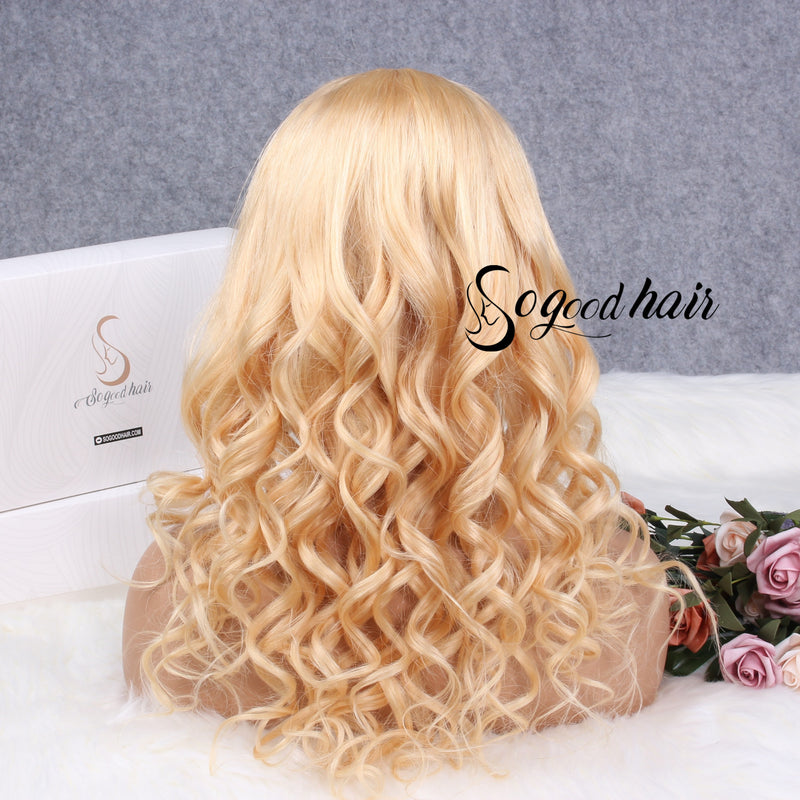 360 LACE FRONT WIG | WAVE BLONDE | PRE PLUCKED - sogoodhair