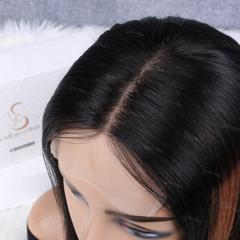 Blunt Bob 4x4 Closure Wig - sogoodhair