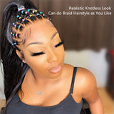 Cindy Loose Wave 13x6 Lace Frontal Wig Invisible Knots
