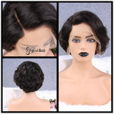 Moody Body Wave | Pixie Cut Virgin Human Hair Lace Wig - sogoodhair