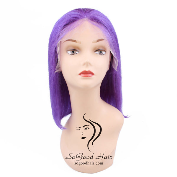 Violet BOB Wig| Lace Front Wig| Remy Human Hair - sogoodhair