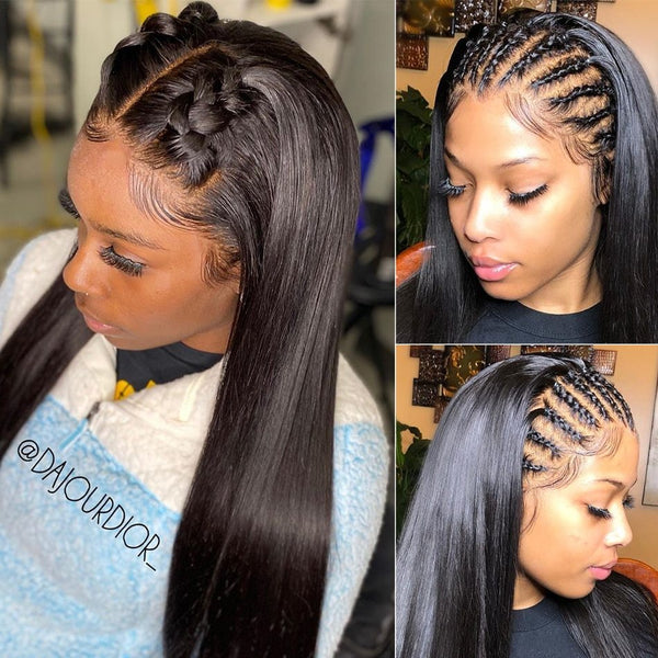 Straight Full Lace Wig| Pre-Plucked - sogoodhair