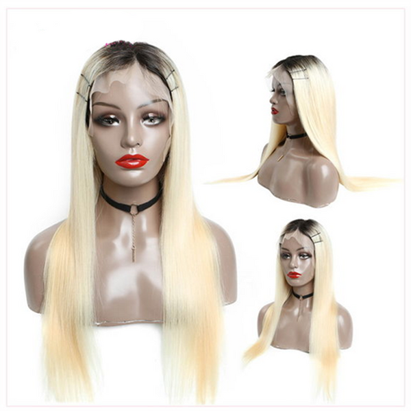 Ombre Blonde Full Lace Wig | Natural Hairline - sogoodhair
