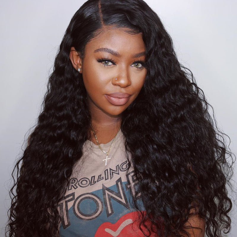 Deep Wave 360 Lace Frontal Wig| Ashley Bedeck