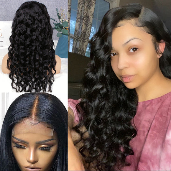 Cindy Loose Wave 4x4 Glueless Lace Closure Wig