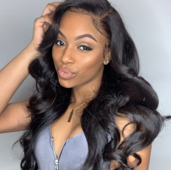 Yanie Body Wave 13x6 Lace Frontal Wig Invisible Knots