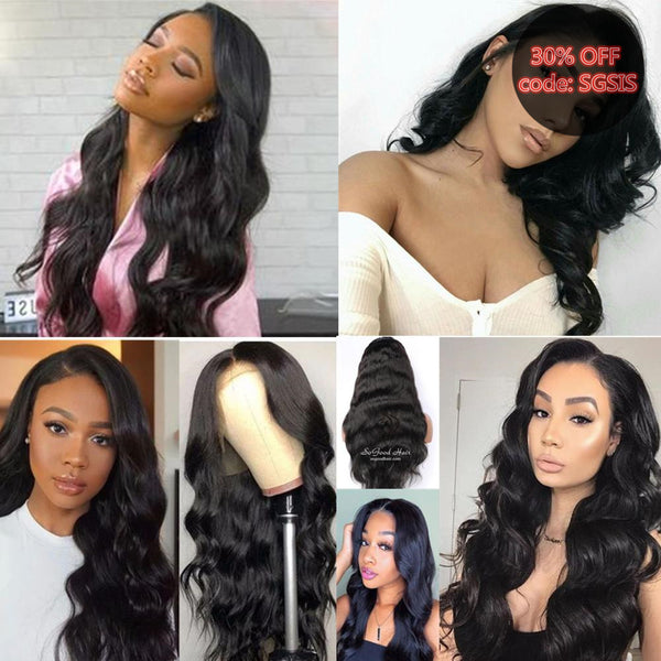 Body Wave 13x3 Lace Front Wig With Stretch Lace Back |Special Offer - sogoodhair