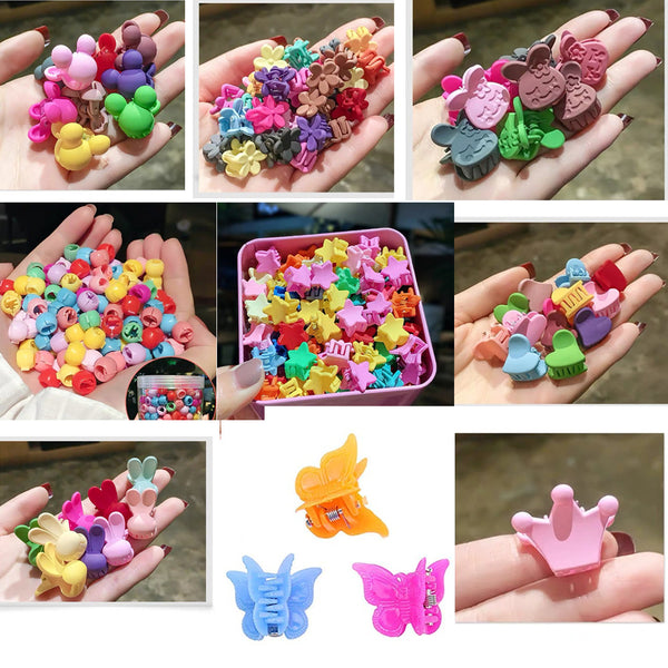 Assorted Color Beautiful Mini Hair Clips | 50PCS - sogoodhair