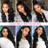 Cindy Loose Wave 360 Frontal Wig - sogoodhair