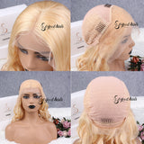13x6 Blonde Wave Lace Frontal Wig| Pre-plucked - sogoodhair