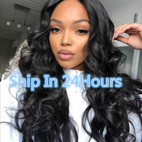13x4 Body Wave Lace Front Wig + $0.99 Luxury Mink Fur Eyelashes , Code: WK16