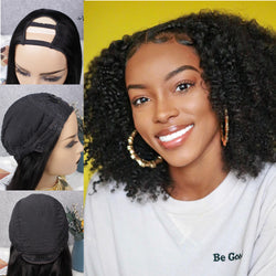 Afro Curl U-Part Wig| No Sew In& Glue