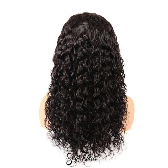 Eva Water Wave 13x4 Pre-Made Fake Scalp Lace Frontal Wig