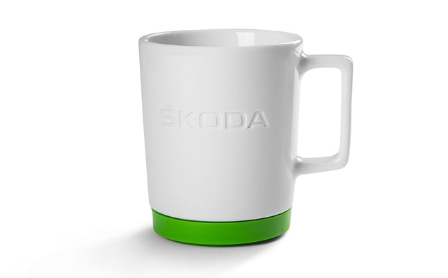 Mug with green silikone Pad
