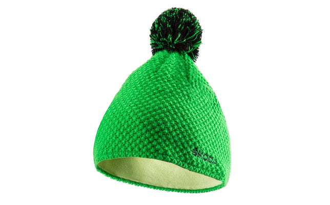 Skoda Bobble Hat (Green)