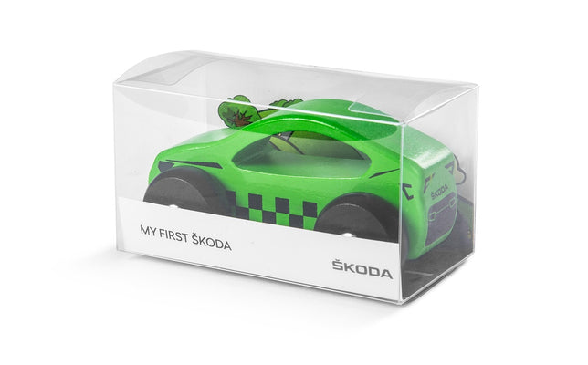 Skoda Toy Wooden Car
