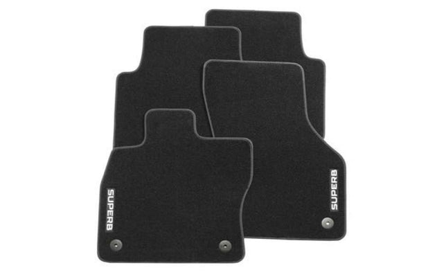 Floor Mat Set - (Carpet) (Superb 3V 2015>Present)
