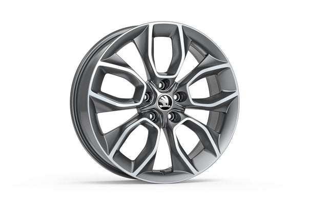 ŠKODA Alloy Wheel CRATER 19""